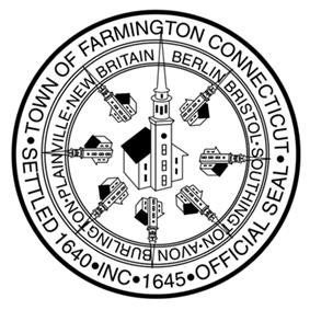 Official seal of Farmington, Connecticut