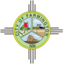 Official seal of Farmington, New Mexico