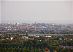 A view of the skyline of the Algarvian capital of Faro