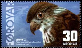 Faroe stamp 427 merlin.jpg