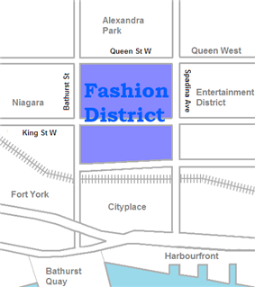 Location of Fashion District