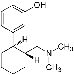 Chemical structure of Faxeladol.