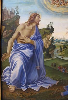 Filippino lippi, Apparizione di Cristo alla Madonna 02.JPG