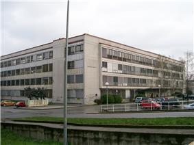 Faculty building in Zagreb