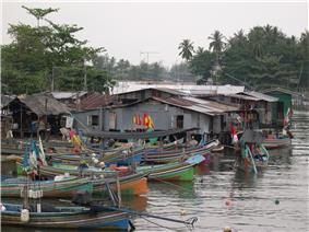 Fishing Village in Narathiwat