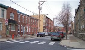 1500 block of E. Berks Street, a typical residential street in Fishtown, in 2007