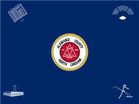 Flag of Alamance County, North Carolina