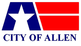 Flag of Allen, Texas