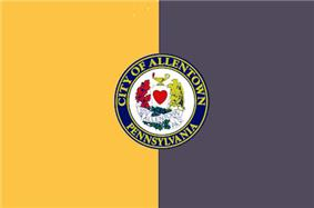Flag of Allentown, Pennsylvania