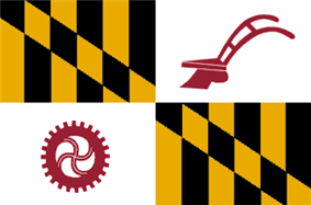 Flag of Baltimore County, Maryland