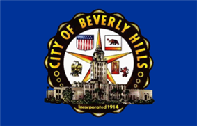 Flag of Beverly Hills, California