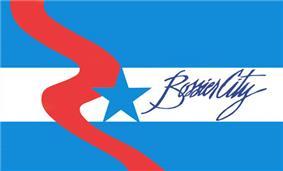 Flag of Bossier City, Louisiana