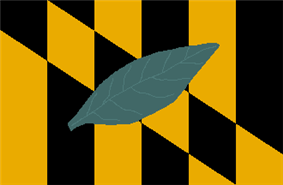 Flag of Calvert County, Maryland