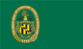 Flag of Caroline County, Maryland