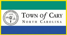 Flag of Cary, North Carolina