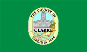 Flag of Clarke County, Virginia