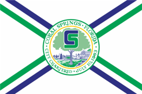 Flag of Coral Springs, Florida