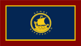 Flag of Corfu