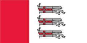 Flag of Daugavpils Municipality
