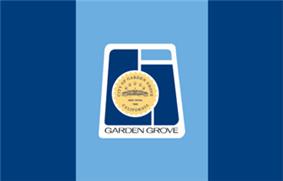 Flag of Garden Grove, California