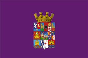 Flag of province of Guadalajara