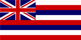 Flag of Hawaii 1845-present