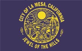 Flag of La Mesa, California