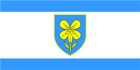Flag of Lika-Senj County