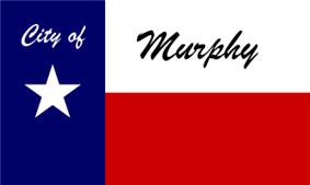Flag of Murphy, Texas