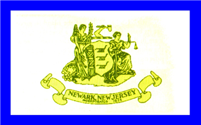 Flag of Newark, New Jersey