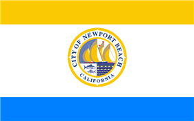 Flag of Newport Beach, California