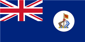 Flag of North Borneo colony.