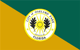 Flag of Oakland Park, Florida