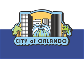 Flag of Orlando, Florida