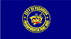 Flag of Pasadena, California