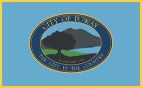 Flag of Poway, California
