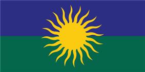 Flag of Saulkrasti Municipality