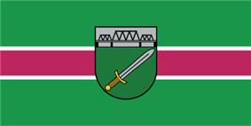 Flag of Skrunda Municipality