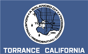 Flag of Torrance, California