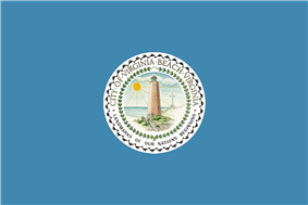 Flag of Virginia Beach, Virginia