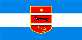 Flag of Virovitica-Podravina County