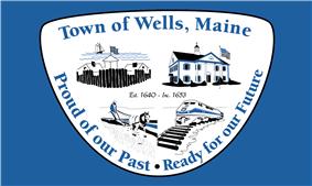 Flag of Wells, Maine