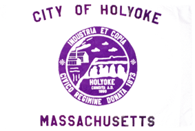 Flag of Holyoke, Massachusetts