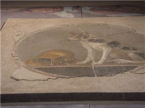 Ancient mosaic found in excavations under the new Alexandria library