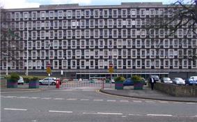 Circa 1970s six-storey office building