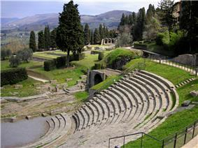 The Roman theatre of Fiesole is still used.