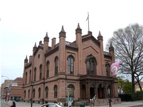 The Flushing Town Hall, now a cultural center[http://www.flushingtownhall.com/index.php Flushing Town Hall Official Website]