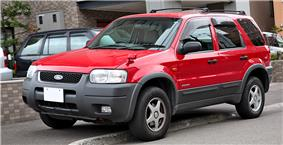 Japanese-specification Ford Escape