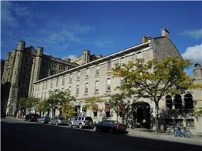 Exterior view of the Former Geological Survey of Canada Building