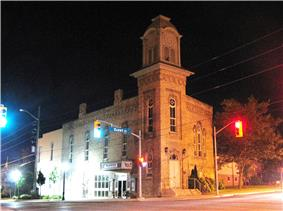 Former Port Perry Town Hall NHS, Port Perry, ON